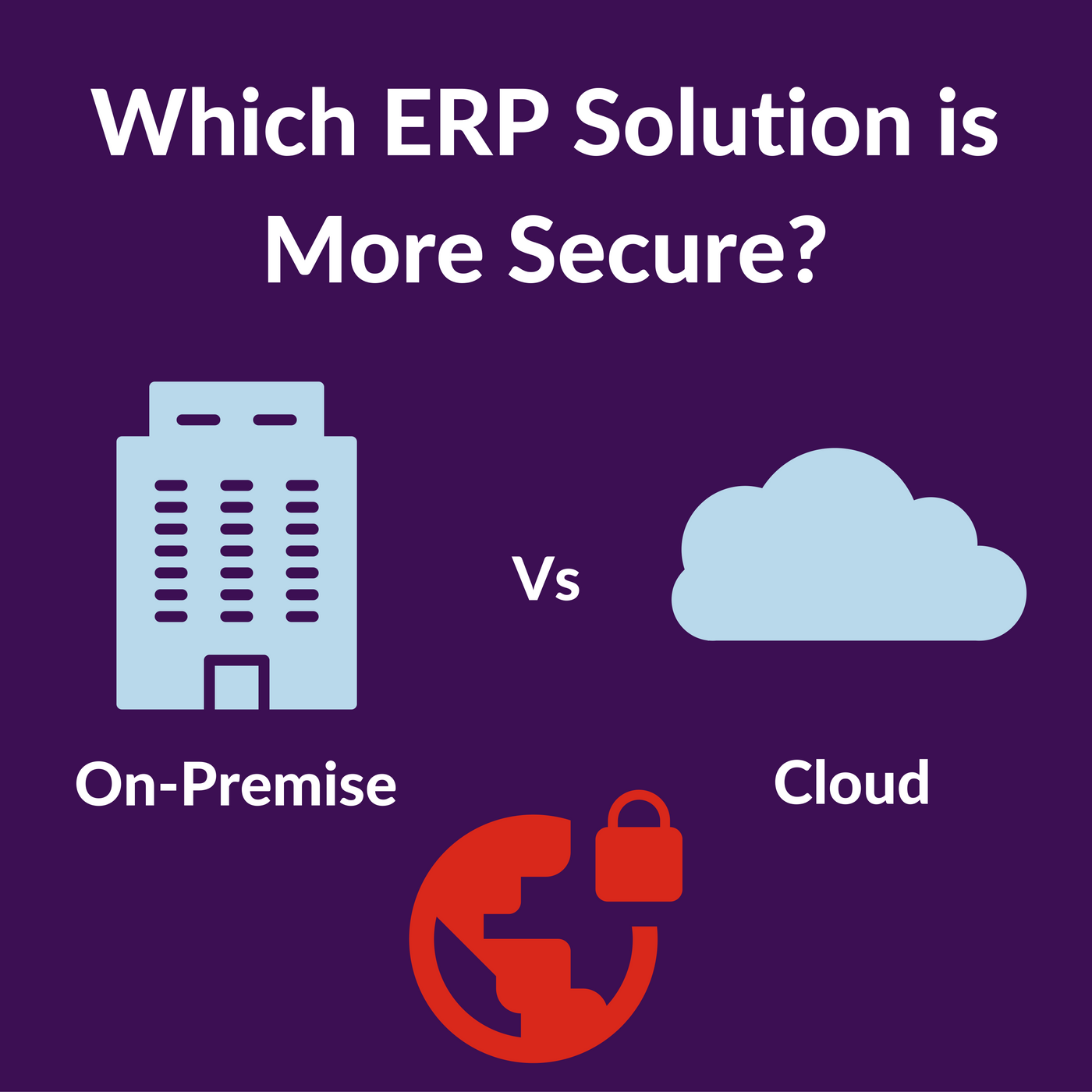 On Premise Or Cloud Erp Which Is More Secure Data Security Software