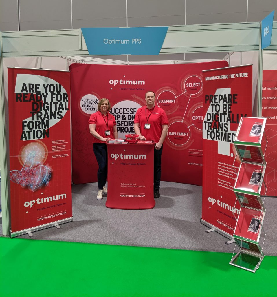 Optimum PPS Smart Factory Expo Stand