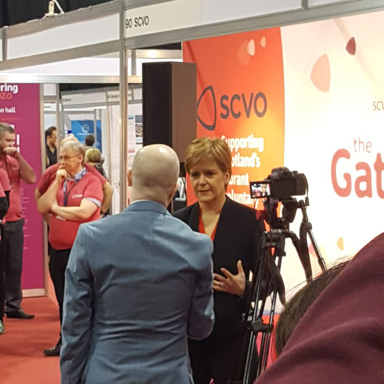 Nicola Sturgeon at The Gathering 2020