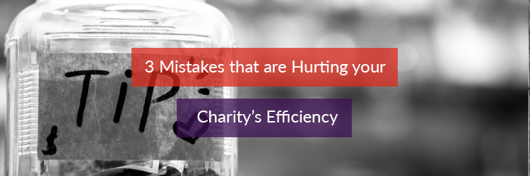 Header image for article on improving your charity's efficiency