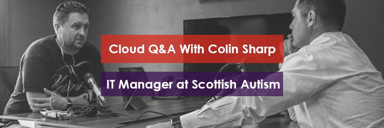 Colin Sharp of Scottish Autism Image Header
