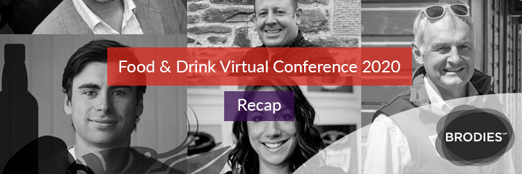 Food and Drink Virtual Conference Header