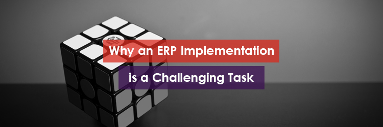 Why ERP Implementation is a Challenging Task Header Image