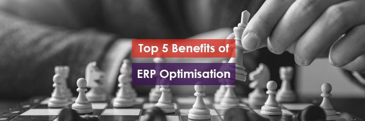 Top 5 Benefits of ERP Optimisation Header Image