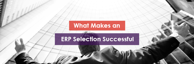 What Makes an ERP Selection Successful Header Image