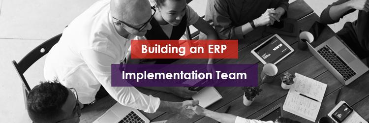 Building an ERP Implementation Team Header Image