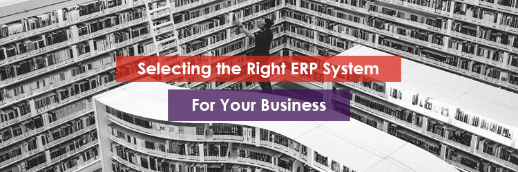 Selecting the Right ERP System for your Business Header Image